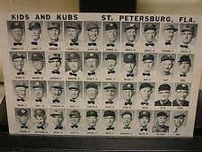 Vintage Kids and Kubs Postcards St Petersburg, FLA.