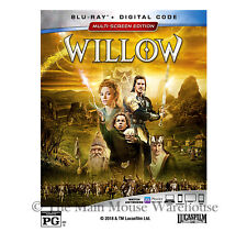 Authentic Lucasfilm Fantasy Classic Willow Blu-ray & Digital Copy Code Pre-Order