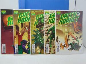 Green Hornet #26 thru #30 Dynamite Comics CB14012
