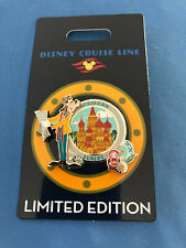 Goofy Northern Europe Disney Pin 2020 Dcl Cruise Line Limited Edit New on Card