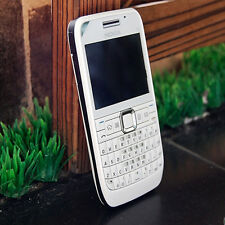 (White) E63 QWERTY Keyboard Mobile Phone Bluetooth Wifi FM Nokia E63 Cell Phone
