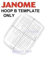 JANOME modèle broderie hoop B 140mm x 200mm mc10000 10001 9700 350e 300 etc