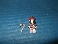 LEGO MINIFIGURE CAPTAIN JACK SPARROW (DUAL HEAD) poc011