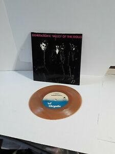 Generation X Valley of The Dolls 7 Inch record