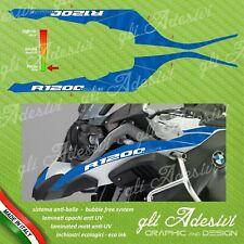 2 Adesivi Becco+Serbatoio Moto BMW R 1200 gs adventure LC blu RALLYE