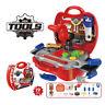 Children Kids 19pcs Drill Tool Box Set DIY Builders Building Construction Toys
