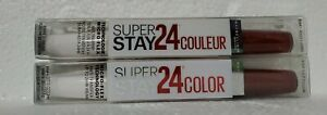 (2) TWO Maybelline Superstay 24hr Color, 005 Everlasting Wine