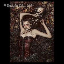 *IRIA* Goth Vampire Girl Fantasy Art 3D Print By Victoria Frances (39.5x29.5cm)