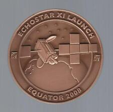 2008 ECHOSTAR XI SATELLITE LAUNCH EQUATOR MEDAL