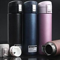 Vacuum Thermos 500ml Stainless Steel Thermo Cup Coffee Tea Travel Mug Bottle