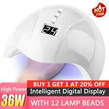 36W Nail dryer Nail light UV LED gel smart QUICK-DRYING induction nail lamp Hot