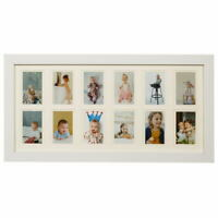 My First Year Photo Moments Baby Keepsake Frame with Double Beige Mat and Sand