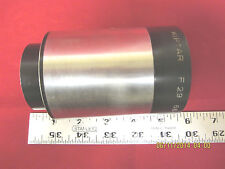 Vintage ISCO Kiptar FL 6.6 inch (165mm) 35mm Cine Projection Lens Used.