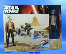 Hasbro Star Wars Episodio 7 / B3918 / Speeder Bike/Figura 30 Cm / Poe Dameron