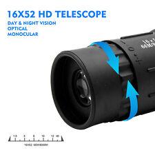 *Monokular Fernglas Teleskop Telescope Fernrohr 16X52 Outdoor Camping Nachtsicht