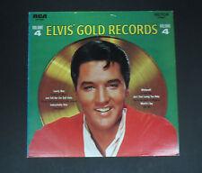ELVIS PRESLEY  Vinyl LP Elvis Gold Records Volume 4 (Italian Import) EX