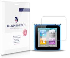 iLLumiShield HD Screen Protector w Anti-Bubble/Print 3x for Apple iPod nano 6