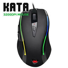 Full Size Gaming Mouse KATA | Adjustable 3200DPI - Weighted & Programmable