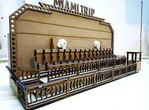 1:50 scale Showman's fairground Miami ride MDF model kit