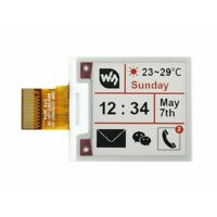 1.54inch 200x200 e-paper three-color raw E-lnk display SPI Interface No PCB