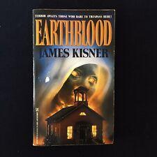 James Kisner - Earthblood - Zebra Books - 1990 - Vintage Horror Paperbacks