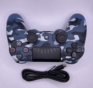 Sony Playstation 4 Controller V2 Dualshock 4 Wireless PS4 Gamepad - Blue Camo