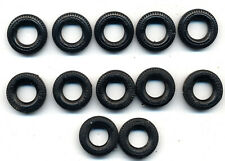 Britains - lot of 12x original tyres for Land Rovers trailers etc