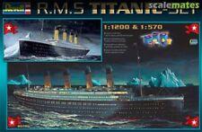 New REVELL : R.M.S. TITANIC SET MODEL KIT 05705 1:200 & 1:570