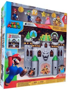 Nintendo Super Mario Deluxe Browser's Castle Bowser New