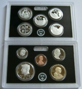 2019-S United States Mint 10-Coin SILVER PROOF SET ~with U.S. Mint Box & COA~