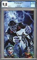 Batman Who Laughs #1 CGC 9.8 Mike Mayhew VIRGIN Variant HOMAGE Cover