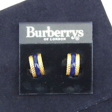 Auth Burberry Earring Ladies used J19104