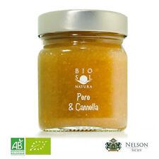 Confettura Extra Pera e Cannella BIO da 250 gr Biosolnatura - 100% Organic