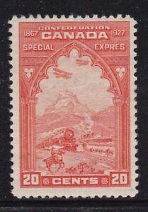 Album Treasures Canada Scott # E3 20c Special Delivery Mint Hinged