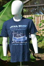 Authentic Disney Star Wars Galaxy's Edge Opening Day T-Shirt Blue