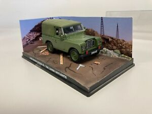 Land Rover Series III James Bond 007 Collection Car Living Daylights Z12 #73