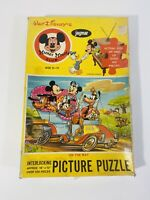 Vintage Mickey Mouse Club Jigsaw Puzzle Jaymar On The Way 100 Pieces 1960s
