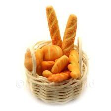 Miniature Panier de fait main pains sélection
