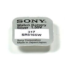 SONY - 1 piles 317  SR516SW / SR516 -  1,55V
