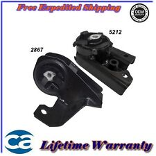 Transmission Engine Motor Mounts Set Kit  For:95/99 Dodge Neon Stratus 2.0 L**