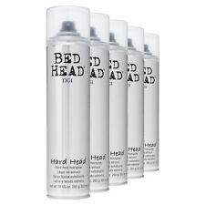 TIGI Bed Head HARD HEAD Hard Hold Hairspray Haarspray starker Halt 5x 385 ml