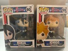 FUNKO POP BLEACH RUKIA #60 - ICHIGO #59 VAULTED Lot 2