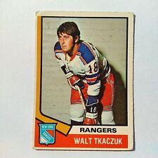 1974-75 OPC O-Pee-Chee #119 Walt Tkaczuk New York Rangers - EX