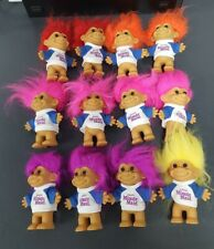 New ListingVintage 4 Inch Russ Troll Dolls Lot of 12 Excellent Condition Minute Maid