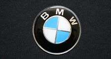 BMW Logo Emblem 45 mm Blue / White Car Steering Wheel Sticker Metal Auto Badge
