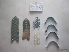 One Metal Chrome Picture Frame Hardware Kit