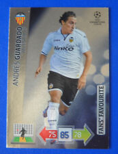 CARD ADRENALYN CHAMPIONS LEAGUE 2012/13 - GUARDADO - VALENCIA - FANS' FAVOURITE