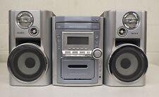 Panasonic SA-PM11 AM/FM Stereo 5-CD Auto Reverse Cassette System Sony Speakers