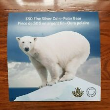Canada - 50 Dollars - $50 for $50 - Polar Bear (2014)- Card & COA Only / No Coin