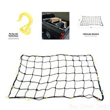 Carrier Truck Hitch Cargo Net Roof Rack 36x60in Strong Nylon Hook Secure Box Bag